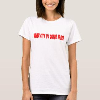 都心部対宇宙 Tシャツ