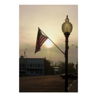都心- Yatesの中心、カンザス ポスター
