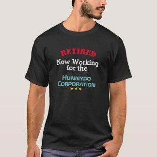 配偶者のためにおもしろいで退職したな働くこと- Tシャツ