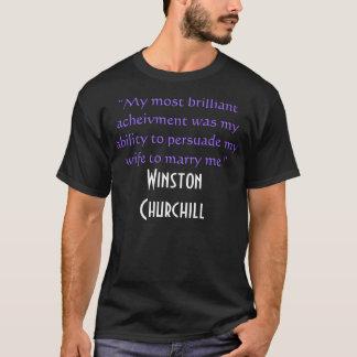 配偶者のためのchurchill愛 tシャツ