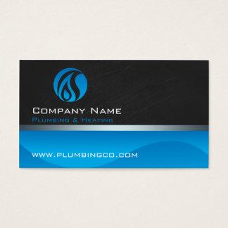 配管および暖房の名刺 名刺