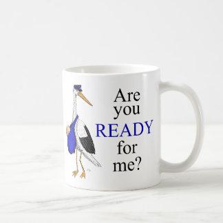 配達こうのとりのマグ コーヒーマグカップ