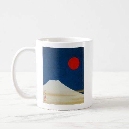 酒井抱一『 富士山図 』、Sakai Hōitsu コーヒーマグカップ