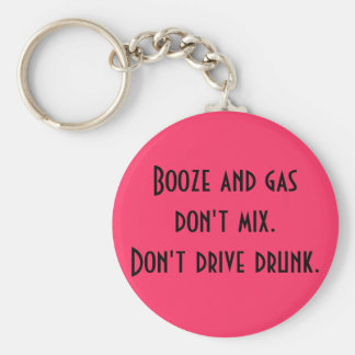 酒宴およびガスは混合しません。 ベーシック丸型缶キーホルダー