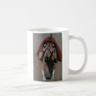 酔ったラクダ コーヒーマグカップ