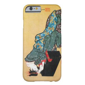 酔った女、北斎によって飲まれる女性、Hokusai、Ukiyo-e Barely There iPhone 6 ケース