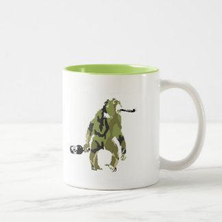 酔った猿のマグ ツートーンマグカップ