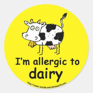 酪農場にアレルギー ラウンドシール