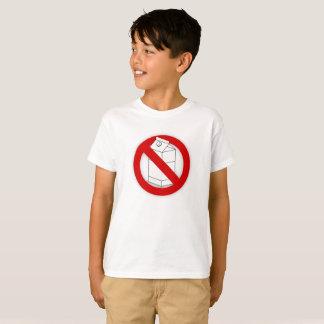酪農場のアレルギーおよび乳糖不耐症のTシャツ Tシャツ