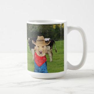 酪農業者および実験室の恋人のためのマグ コーヒーマグカップ