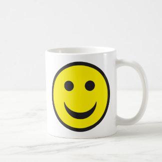 酸の家のスマイリーフェイス コーヒーマグカップ