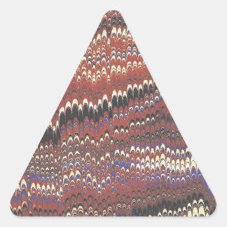 酸の家 三角形シールステッカー