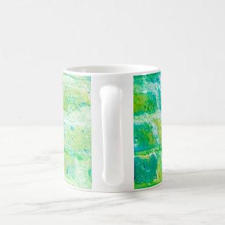 酸の緑の煉瓦マグ コーヒーマグカップ
