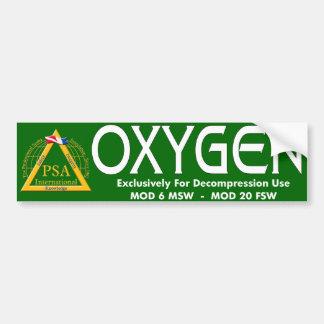 酸素のステッカー バンパーステッカー