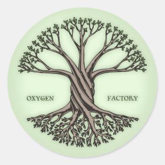 酸素の工場 ラウンドシール