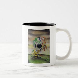 醜いアヒルの子のマグ ツートーンマグカップ
