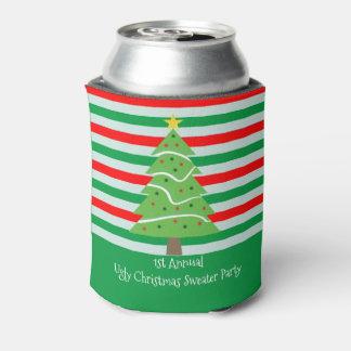 醜いクリスマスのセーターのパーティーのギフト 缶クーラー