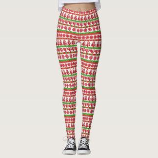 醜いクリスマスのセーターのレギンス レギンス