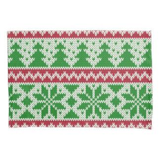 醜いクリスマスのセーターの睡眠 枕カバー