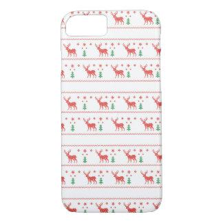 醜いクリスマスのセーターのiPhoneの場合 iPhone 8/7ケース