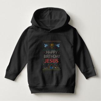 醜いクリスマスのセーター色の宗教クリスチャン パーカ