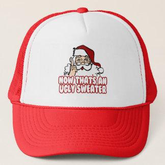 醜いクリスマスはサンタクロースを誓います キャップ