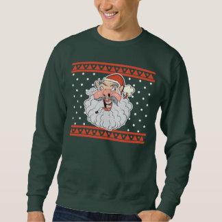 醜いサンタの醜いクリスマスのセーター スウェットシャツ