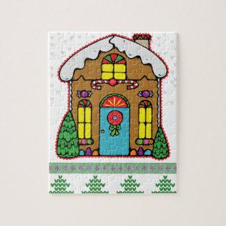 醜いセーターのお菓子の家の人 ジグソーパズル