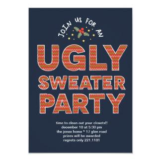 醜いセーターのパーティ カード