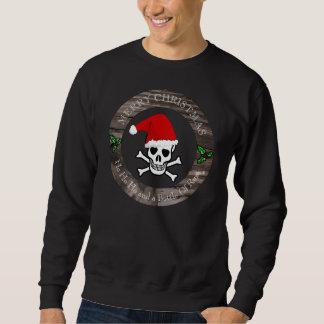 醜いセーターの海賊クリスマス スウェットシャツ