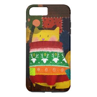 """""""醜いセーターの猫"""" iPhone 8 PLUS/7 PLUSケース"""