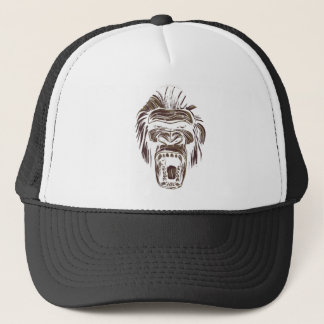 醜いヴィンテージ猿 キャップ