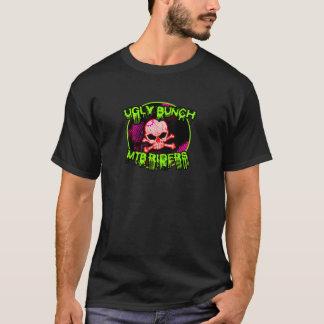 醜い束MTBのライダー Tシャツ