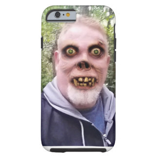 醜い顔の携帯電話の箱 ケース