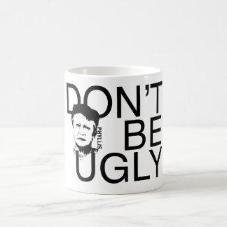 """""""醜い"""" Phyllisが決め付けましたコーヒー・マグをあないで下さい コーヒーマグカップ"""