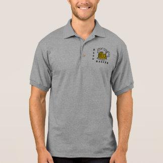 醸造物のマスター-醸造の会社のビールのジョッキ ポロシャツ