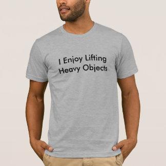 重い目的 Tシャツ