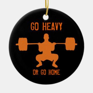 重く行きますか、または家庭の重量挙げは行きます セラミックオーナメント