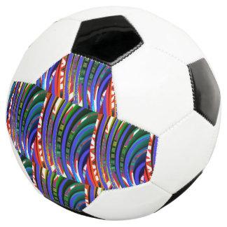 重力力エネルギーはサッカーボールを振ります サッカーボール