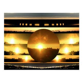 重大なエネルギーの太陽のもと ポストカード