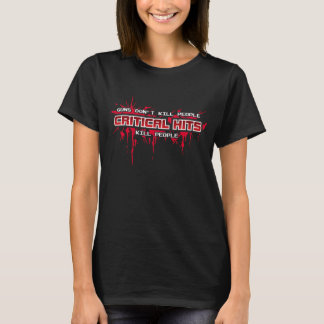 重大な衝突殺害の人々(黒) Tシャツ