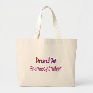 重点を置かれた薬学学生 ラージトートバッグ