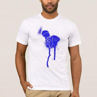 重装歩兵のmolonのlabeの青のTシャツ Tシャツ