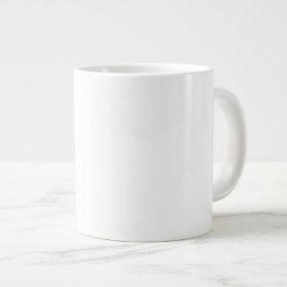 重要な事柄で流暢! ピンク版! ジャンボコーヒーマグカップ