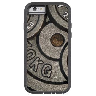重量のプレートの電話箱 TOUGH XTREME iPhone 6 ケース