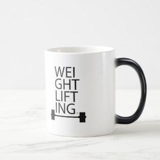 重量挙げのマグ モーフィングマグカップ