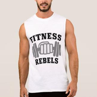 """""""重量挙げ""""の人の袖なしのトレーニングのTシャツ 袖なしシャツ"""