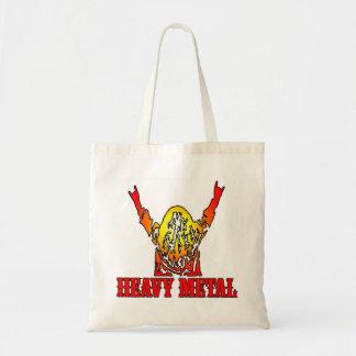 重金属のバッグ トートバッグ