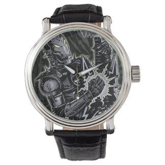 重金属のロボット 腕時計