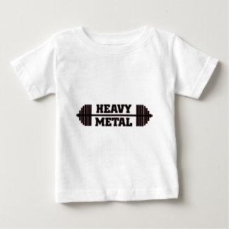 重金属の乳児/幼児のTシャツ ベビーTシャツ